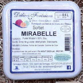 Sorbet Mirabelle
