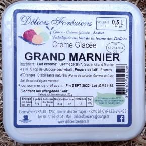 Crème glacée Grand Marnier