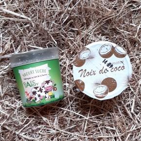 Yaourt aromatisé noix de coco