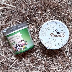 Yaourt aromatisé vanille