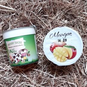 Yaourt fruits mangue passion