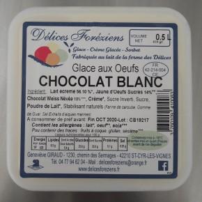Glace Chocolat Weiss Blanc