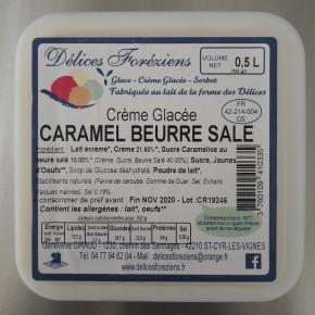 Crème glacée Caramel beurre...
