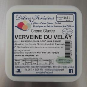 Crème glacée Verveine du Velay