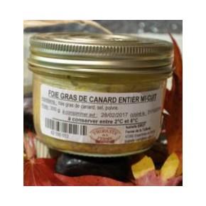 Verrine Foie gras mi-cuit...