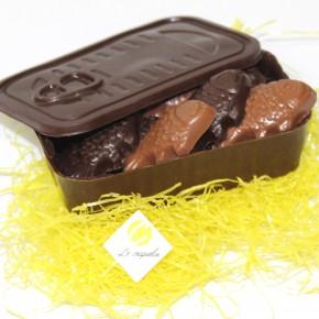 Boîte à sardines chocolat