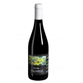 Vin Rouge - Aquarelle