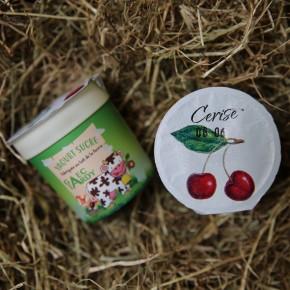 Yaourt fruits cerise
