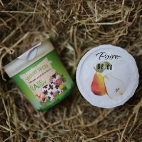 Yaourt fruits poire
