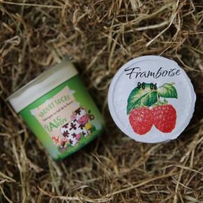 Yaourt fruits framboise