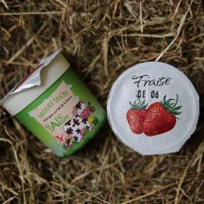 Yaourt fruits fraise