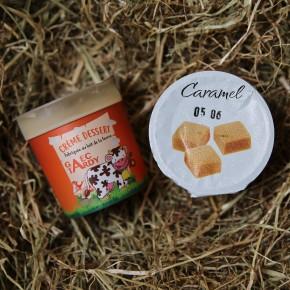 Crème dessert vanille sur...