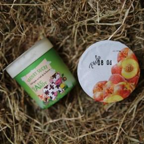 Yaourt fruits pêche