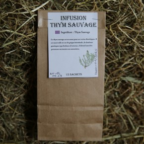 Infusion thym sauvage