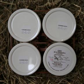 Yaourts de chèvre (x4)