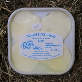 Fromages blancs de vache (x4)